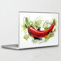 vietnam Laptop & iPad Skins featuring Vietnam Chilli by Vietnam T-shirt Project