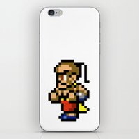 final fantasy iPhone & iPod Skins featuring Final Fantasy II - Yang by Nerd Stuff
