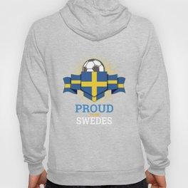 Football Swedes Sweden Soccer Team Sports Footballer Goalie Rugby Gift Hoody