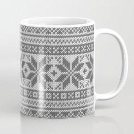 Winter knitted pattern4 Coffee Mug