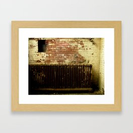 Eroded, Adjcacent to Cell 4 Framed Art Print
