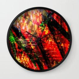 Palm Frond + Beyond [x] Wall Clock
