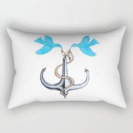 Sam Anchor of Love Rectangular Pillow