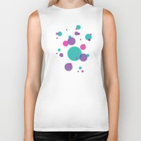 dots Biker Tanks featuring Dots by eDrawings38