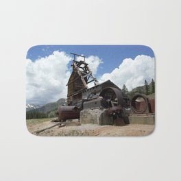 Exploring the Longfellow Mine of the Gold Rush - A Series, No. 2 of 9 Bath Mat