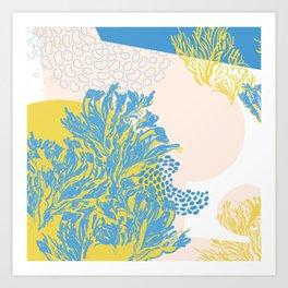 sea and salty air Art Print