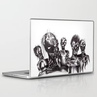 zombies Laptop & iPad Skins featuring Zombies by Niky Boo