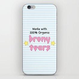 brony tears iPhone Skin