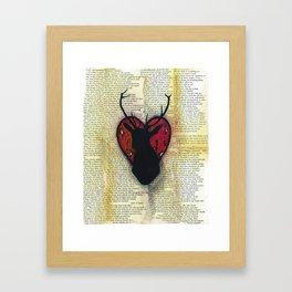 Hart Heart Framed Art Print