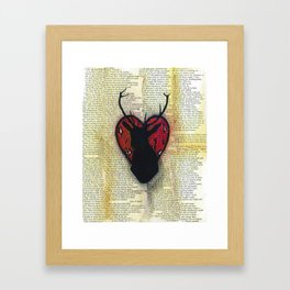Hart Heart Framed Art Print