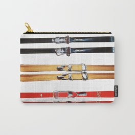 Old School Skis from Crow Creek Coolture Carry-All Pouch