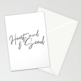 Heart, Mind & Seoul Stationery Cards