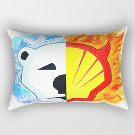 Save the Arctic Rectangular Pillow