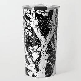 Tree with flowers in spring Travel Mug