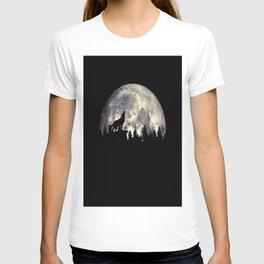 Wild Solitary Wolf T-shirt