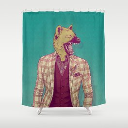 Elwood the Hyena Shower Curtain