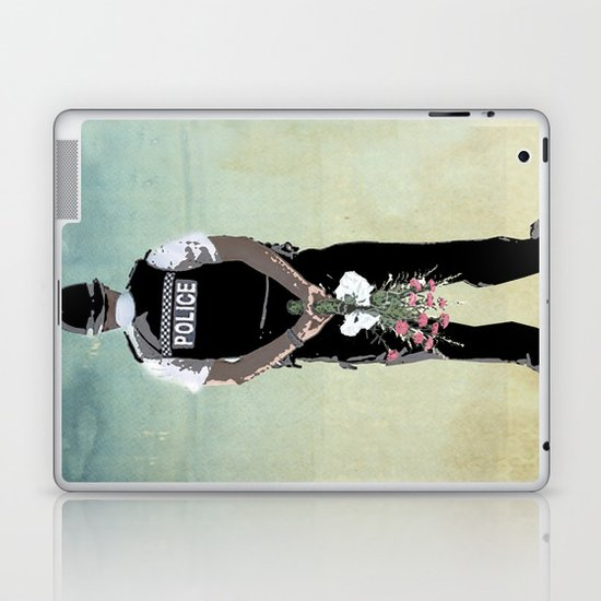long arm Laptop & iPad Skin