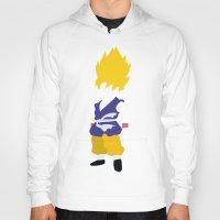 goku Hoodies featuring Goku SSJ by JHTY