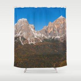 Dolomites 14 - Italy Shower Curtain