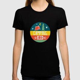 camping kid T-shirt