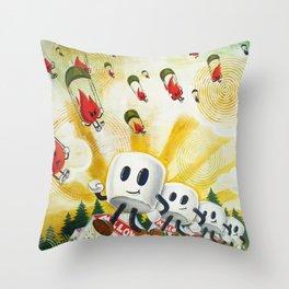Camp Mellowfire Throw Pillow