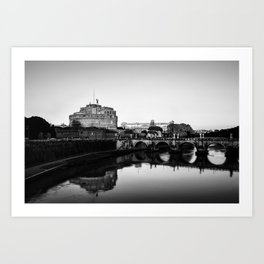Postcard from Rome Art Print