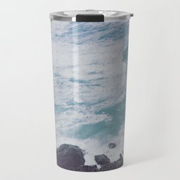 Blue Ocean - Seals on Rocks Travel Mug