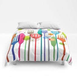 Color Feast Comforters