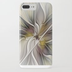 Floral Abstract, Fractal Art Slim Case iPhone 7 Plus