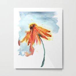 Prairie Flowers: Echinacea Metal Print