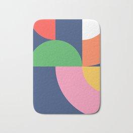 Abstract Geometric 16 Bath Mat