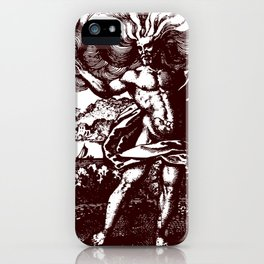 The North Wind Carried Him iPhone Case