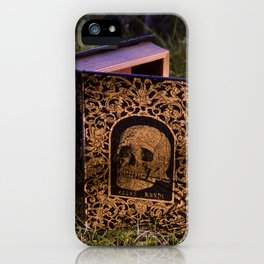 Book of death iPhone Case