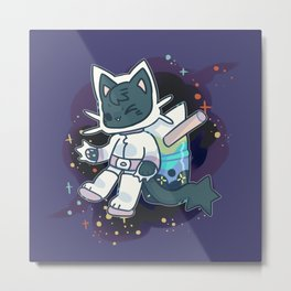 BTSK - SPACE CADET Metal Print