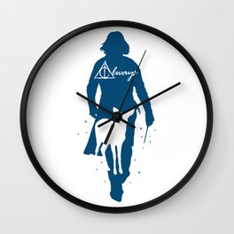 Snape Always Wall Clock