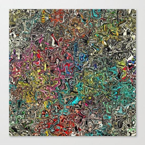 Abstract SQ Canvas Print