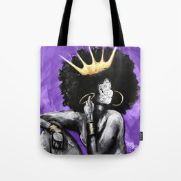 Naturally Queen VI PURPLE Tote Bag