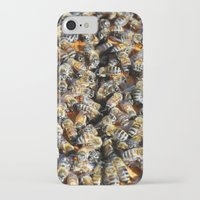 minions iPhone & iPod Cases featuring Hive of Activity by Shawn Kelvin