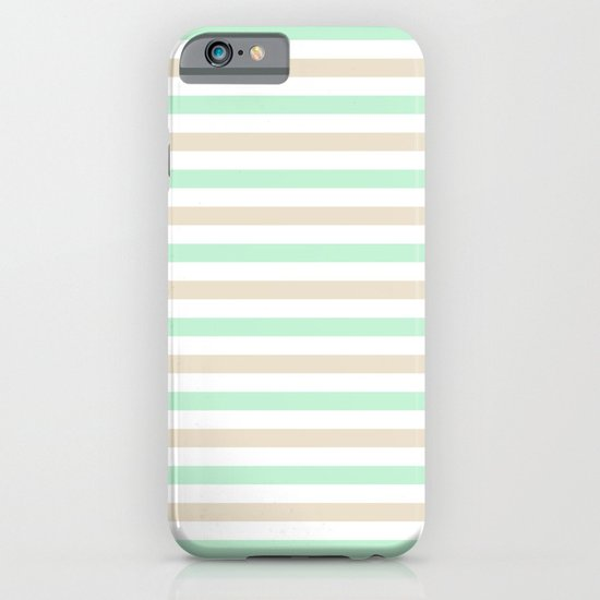 Pastel stripes iPhone & iPod Case