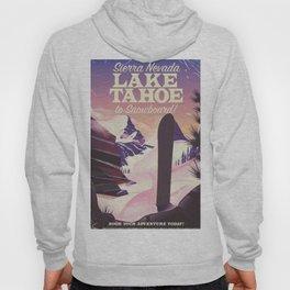 Lake Tahoe Sierra Nevada Snowboarding Hoody