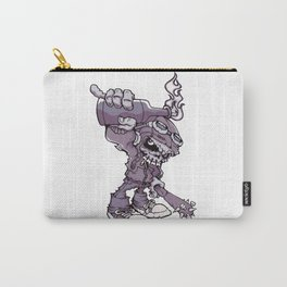 Anarchy Skeleton - Amethyst Smoke Carry-All Pouch