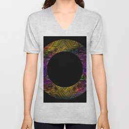 RUNE IN THE ROUND Unisex V-Neck