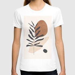 Abstract Art /Minimal Plant 12 T-shirt