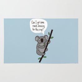 Koala Question Rug
