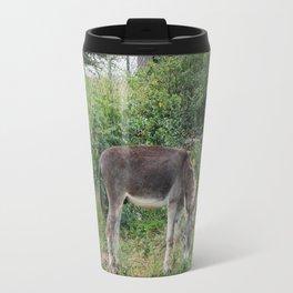 Feral Donkey on Bonaire Travel Mug