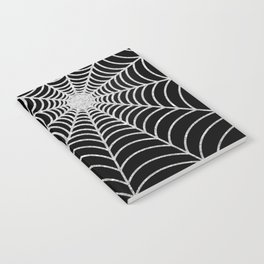 Spiderweb | Silver Glitter Notebook
