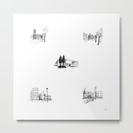 crouch end icons Metal Print