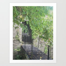 Secret Castle Gateway Art Print