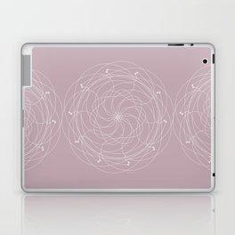 Ornament – Merry Go Round Flower Laptop & iPad Skin