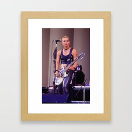 Joan Jett Framed Art Print